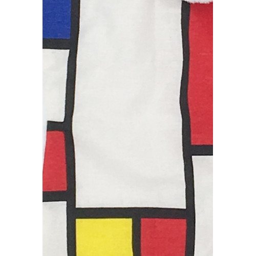 Fabric Baby Comforter Le Mondrian. French Manufacturer