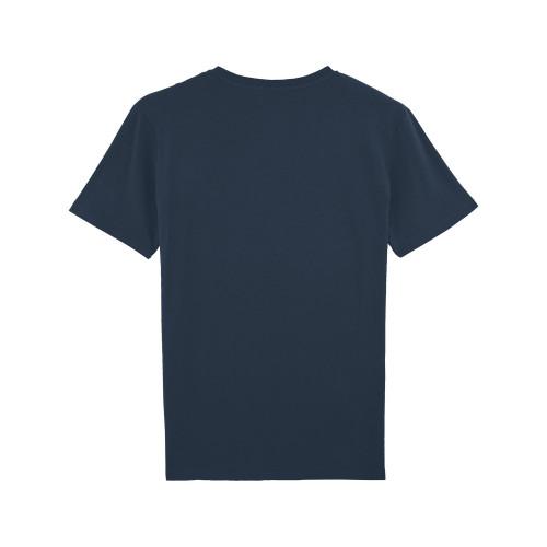 Back Navy Champion Du Monde Man's T-shirt
