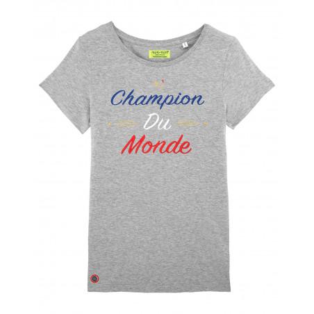 Grey Champion Du Monde Woman T-shirt