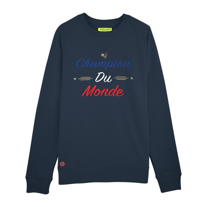 Navy Champion Du Monde Man's Sweat