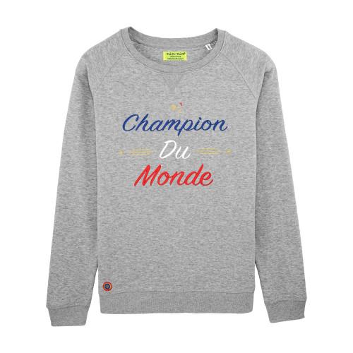 Grey Champion Du Monde Woman's Sweat