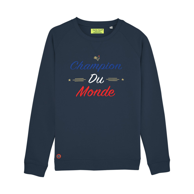 Navy Champion Du Monde Woman's Sweat