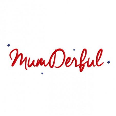 Embroidery Mumderful Woman's Sweat