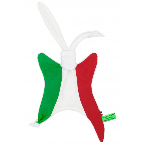 Cube Baby Comforter Le Tricolore. Made in France