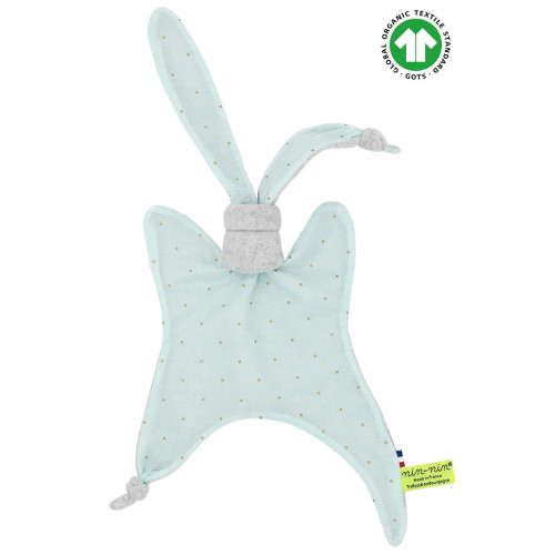 Organic baby comforter The Mint