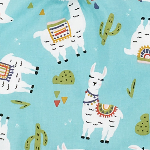 Fabrics pillow Llama. Made in France