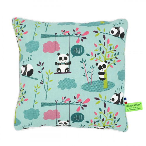 Personalised pillow Panda. Original, fun and cool. French Manufacturer