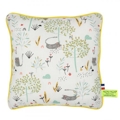 Personalised pillow zen. Original birth gift made in France. Brand Nin-Nin
