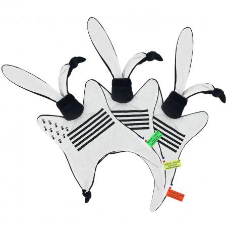 Labels personalised blanket Le Breton. Original and made in France. Nin-Nin brand