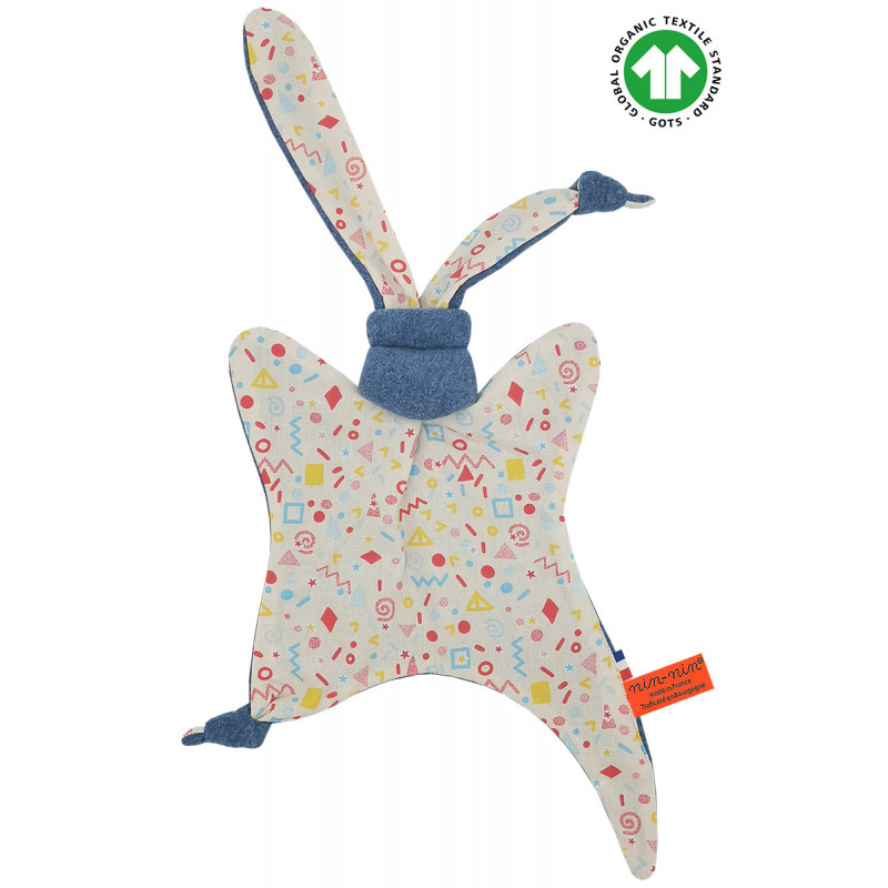 ORGANIC BABY COMFORTER LE POP. Made in France