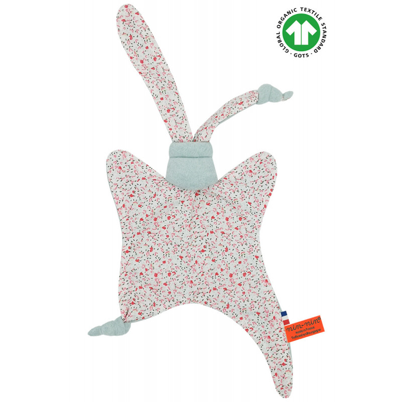 ORGANIC BABY COMFORTER LE FLEURI. Made in France