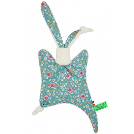 Original baby comforter Joséphine. Personalised soft toy made in France. Nin-Nin Brand