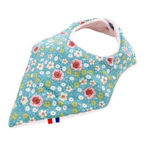 "Customizable bandana bib ""Le Joséphine"". Made in France. Nin-Nin"